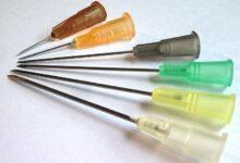 مقاسات الإبر الطبية أنواع الإبر الطبية واستخداماتها
