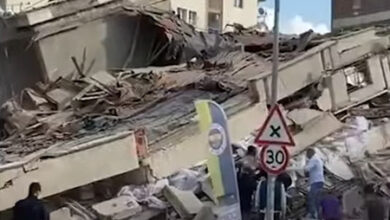 زلزال يضرب تركيا ازمير بقوته 7.0 2020 فيديو أضرار بالغة