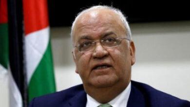 وفاة صائب عريقات الأمين العام لجامعة الدول العربية أحمد أبو الغيط عن أسفه