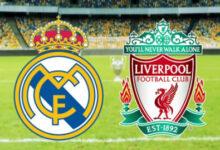 موعد مباراة ليفربول وريال مدريد 2021