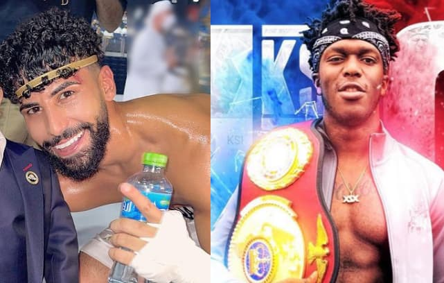 اليوتيوبر ادم صالح اليمني ضد اليوتيوبر KSI البريطاني مباراة ملاكمة هل ستحدث